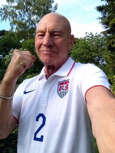Tough luck Portugal, Captain Picard is cheering on the USA tonight