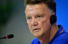 Louis van Gaal suggests FIFA favour Brazil