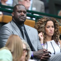 Shaq pays a visit to the Royal Box as Murray makes light work of Wimbledon first round