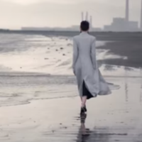 Here's the gorgeous Armani ad that was shot on Dollymount Strand
