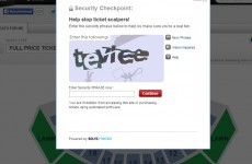 Ticketmaster replaces Captcha for online sales