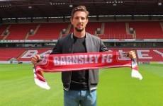 Barnsley have signed former Ireland U21 Conor Hourihane