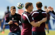 England starts for Barkley, Shaw and Lampard as Hodgson rings changes