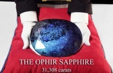 The world's largest gemstones are for sale...to 'qualified buyers'