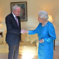 'A very nice meeting' - Martin McGuinness had a private audience with the Queen last night