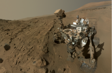 Curiosity Rover celebrates first year on Mars with an obligatory selfie