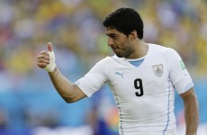 'Nothing happened', snaps Uruguay's Lugano as FIFA promise investigation into Suarez 'bite'