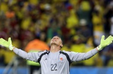 Veteran of USA '94, Colombia goalkeeper becomes World Cup's oldest player