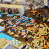 Mesmerising stop-motion building of The Simpsons Lego set