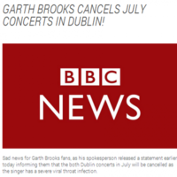 People are sharing this fake 'Garth Brooks cancels' news story