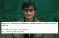Lots of Irish people are getting spammed with Harry Potter quotes... and here's why