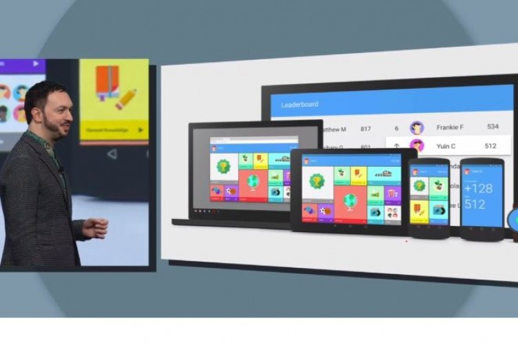 How Google's new look, called Material Design, will appear across all platforms.