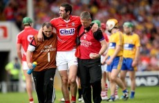 Cork's Mark Ellis a major injury doubt for Munster senior hurling final