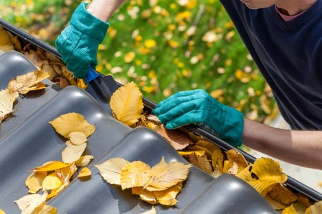 File photo of roof cleaning.