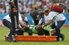 Babatunde set to miss rest of World Cup after horrific arm injury