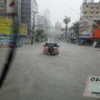 There's been torrential rainfall in Recife today ahead of Germany v USA