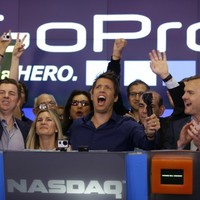 So GoPro's first day on the stock market got off to the best possible start