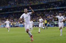 Slimani heads Algeria to historic World Cup last sixteen qualification