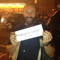 Chris O'Dowd says 'no f*ckin way' to 'Mayo For Sam' campaign