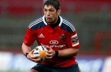 James Downey leaves Munster to sign two-year deal at Glasgow