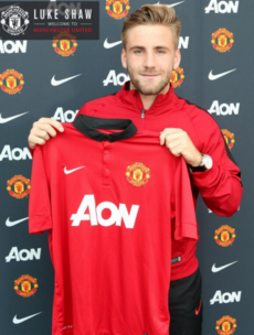 Luke Shaw signs for Manchester United in reported €33 million deal