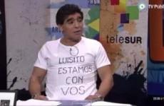 'Why not send him to Guantanamo?' - Maradona adds his name to the Suárez defence team