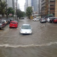 'This is Brazil' shrug locals as football fans endure epic journey through floods