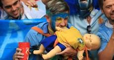 Uruguay hang Suarez kit as World Cup tribute