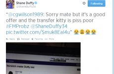 It's only a game Shane! It's the sporting tweets of the week