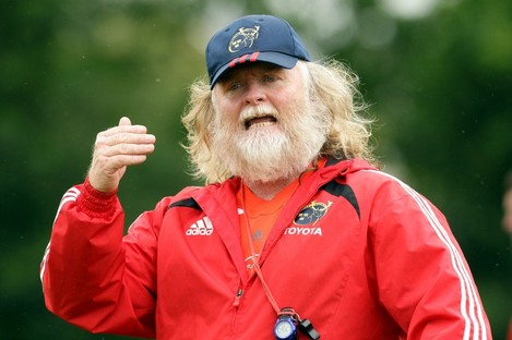 Fisher was forwards coach at Munster under Tony McGahan.