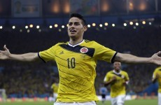 Colombian commentary for Rodríguez's wondergoal was predictably brilliant