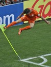 Dutch double up late on as Mexico wave goodbye