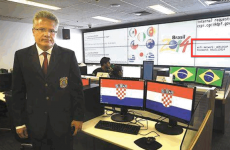 Brazilian newspaper publishes photo with WiFi password for World Cup security centre