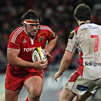 Ex-Munster prop Tony Buckley retires from professional rugby