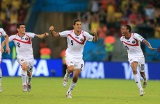 Costa Rican players had practised penalties 'a lot'