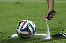 Now you too can own your own bottle of referee's vanishing spray
