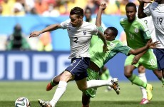 As it happened: France v Nigeria, World Cup last 16