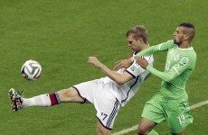 As it happened: Germany v Algeria, World Cup last 16