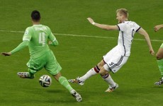 Germany leave it late to see off Algeria and line up quarter-final with France