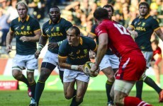 Major blow for South Africa as du Preez ruled out of Rugby Championship