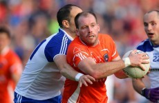 Armagh captain Ciaran McKeever secures transfer to Dublin club Parnells