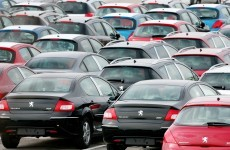 How many new cars have been sold in Ireland so far this year?
