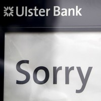 Ulster Bank is shutting down another ten branches