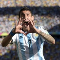 Argentine commentator breaks down in tears after di Maria's winner against Switzerland