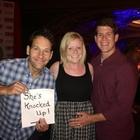 Paul Rudd helped couple announce their pregnancy in the best way possible