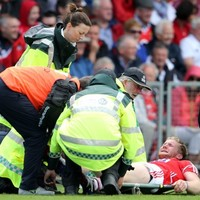 Cork footballer Ruairi Deane hit with suspected cruciate injury