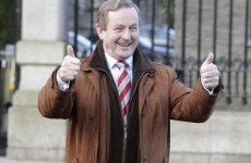 Enda is in Germany today... opening a new Penneys store