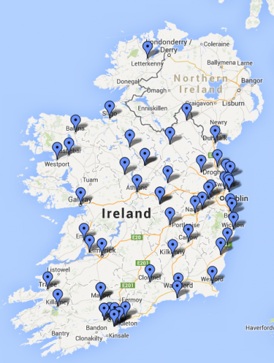 These are the 50 towns being targeted for a €450mn high-speed broadband plan