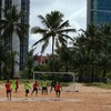 World Cup party moves on from Recife leaving calm after the storm