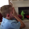 Kid gets Minecraft for his birthday, completely FREAKS OUT